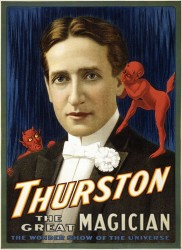 Magic Poster of Thurston the Magician