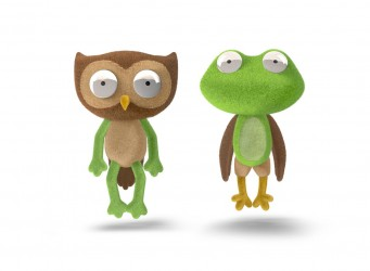 Chimeras-Owl and Frog