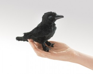 Folkmanis Little Crow Puppet