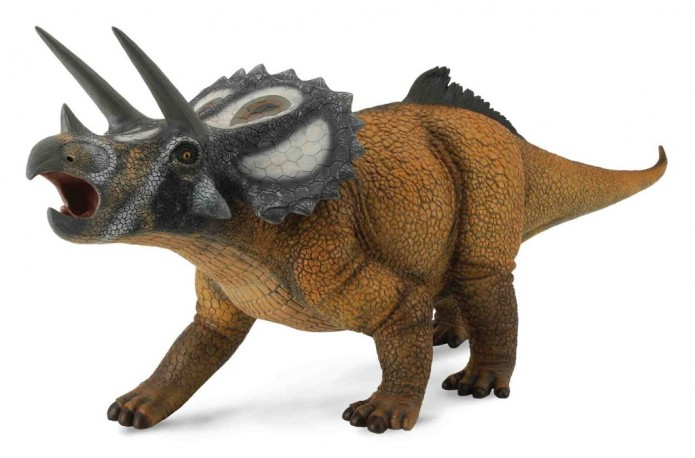 collecta dinosaur 30 triceratops crow s castle