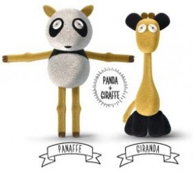 Chimeras-Giraffe and Panda