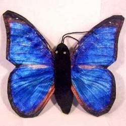 Sunny Menelaus Blue Morpho Butterfly Puppet