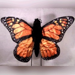 Sunny Monarch Butterfly Puppet