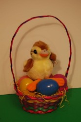 Duckling Easter Basket