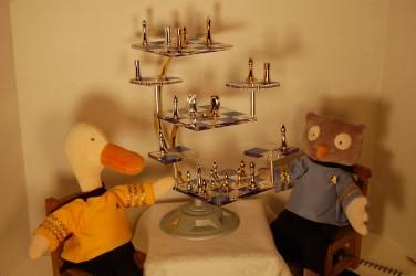 Star Trek Tridemensional Chess Set