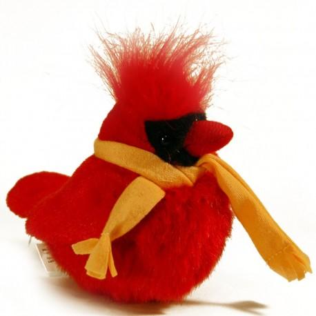 Audubon Winter Cardinal with Orange Scarf