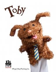 Spudbottom Toby Puppet
