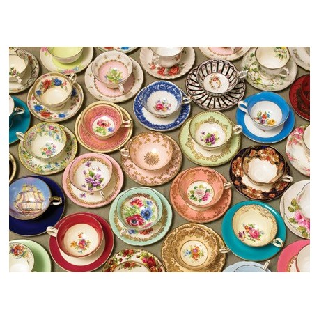 Cups and Saucers Puzzle