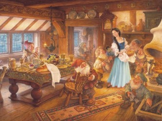Snow white and the seven dwarves Puzzle
