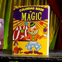 Clown Coloring Book of Magic