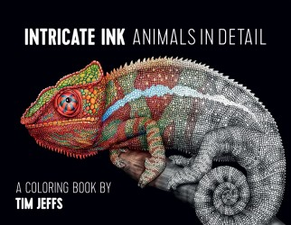 Intricate Ink Animals Coloring Book