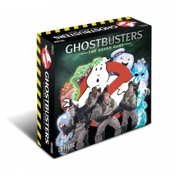 Ghostbusters: The Board Game + Glow Slimer + Zombie Taxi Driver