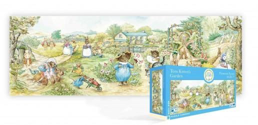 tom kittens garden puzzle