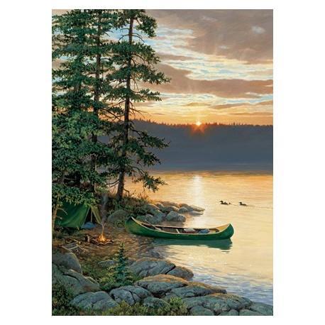 canoe lake puzzle