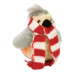 Audubon Winter Tufted Titmouse with Scarf