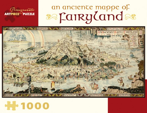 An Anciente Mappe of Fairyland