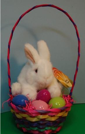Bunny Puppet Easter Basket