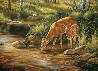 Deer Family - Family Puzzle