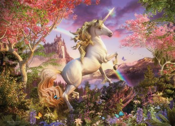 Realm of the Unicorn Family Puzzle