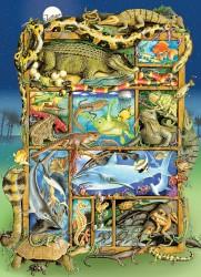 Reptiles & Amphibians Family Puzzle
