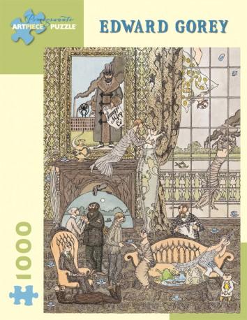 Edward Gorey's Frawgge Mfrg Co Puzzle