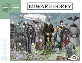 Edward Gorey Puzzle - Family Mystery