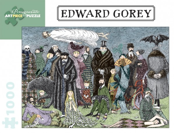 Edward Gorey Puzzle - Untitled Family Mystery