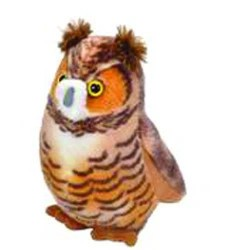 Audubon Birds Great Horned Owl