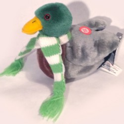 Audubon Winter Mallard Duck with Scarf