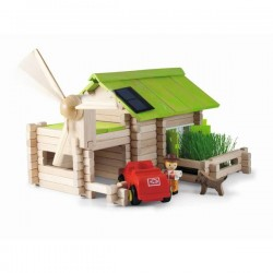 Eco Friendly Chalet Building Set