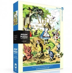 Alice in Wonderland Bookcover Puzzle