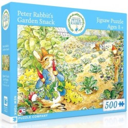Peter Rabbit's Garden Snack Puzzle