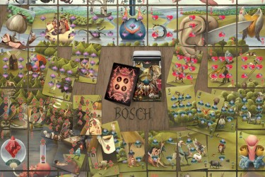 Bosch Puzzle Playing Cards