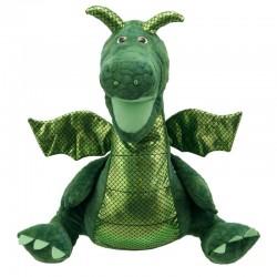 Enchanted Green Dragon Puppet