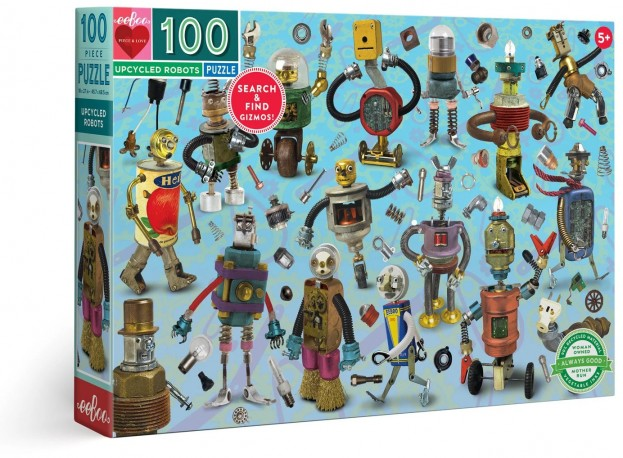 Upcycled Robots Puzzle