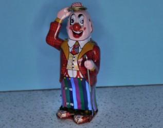 Dandy Clown Tin Toy