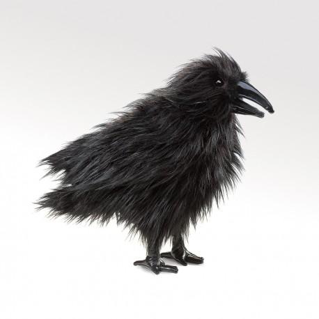 Folkmanis Raven Puppet